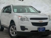 2012 Chevrolet Equinox, Summit White, One Owner,