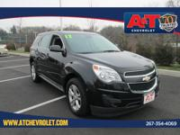 CARFAX One-Owner. Certified. Black 2012 Chevrolet