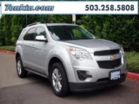 WOW!!! Check out this. 2012 Chevrolet Equinox LT Silver