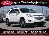 Options:  2012 Chevrolet Equinox Lt|White|Mp3