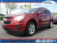 Flex Fuel! Get ready to ENJOY! This 2012 Equinox is for