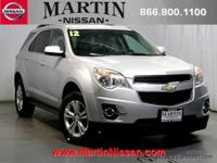 Heated leather!!! This 2012 Chevrolet Equinox LT w/2LT
