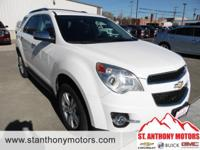 This Chevrolet Equinox has a 3.0 liter V6 Cylinder