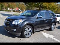 Options:  2012 Chevrolet Equinox Ltz|Awd Ltz 4Dr