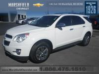 Clean Carfax!. Equinox LTZ, AWD, Jet Black w/Perforated
