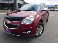 Options:  2012 Chevrolet Equinox Ltz|Red|3.53 Axle