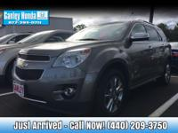 New Price! 2012 Chevrolet Equinox LTZ AWD ONE OWNER,