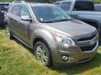 2012 Chevrolet Equinox LTZ. Serving the Greencastle,