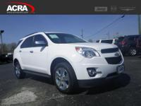 Used 2012 Chevrolet Equinox, key features include: