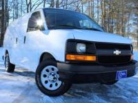 2012 Chevrolet Express 1500, Summit White, and Accident