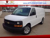 Options:  2012 Chevrolet Express Cargo 1500|1500 3Dr