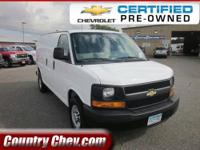 2012 Express 2500 Cargo Van with only 14,128 miles! GM