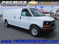 GREAT DEAL ON THIS 2012 2500 EXPRESS CARGO VAN.