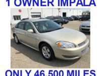 ***1 OWNER IMPALA***, local trade in with only 46,550