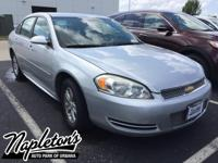 Recent Arrival! 2012 Chevrolet Impala in Silver. Clean