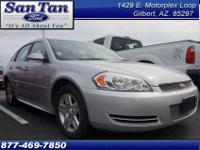 New Arrival! This 2012 Chevrolet Impala four DOOR SEDAN