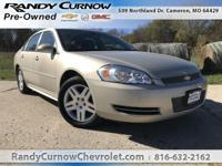 Options:  2012 Chevrolet Impala Lt|Gold Mist