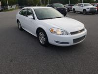 Summit White 2012 Chevrolet Impala LT FWD 6-Speed
