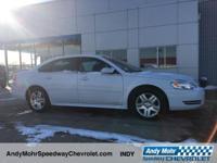 New Price! White 2012 Chevrolet Impala LT Moonroof /