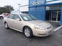 CLEAN CARFAX, ONLY ONE OWNER! Nice Impala LT with Alloy