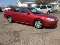 Options:  2012 Chevrolet Impala Lt 4Dr Sedan|Red|All