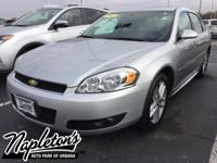 Recent Arrival! 2012 Chevrolet Impala in Silver Ice