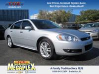 This 2012 Chevrolet Impala LTZ in is well equipped