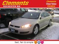 Options:  2012 Chevrolet Impala Ltz|Front Wheel