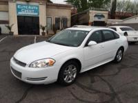 This 2012 Chevy Impala has a 3.6L V6 high output engine