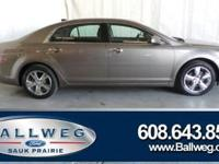 2012 Chevrolet Malibu, Heated Seats, Leather, Local