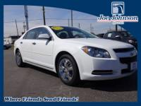 One Owner Clean Carfax, GM Certified, Malibu 2LT,