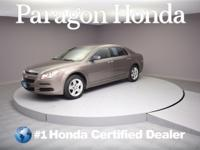 Gray 2012 Chevrolet Malibu LS 1LS FWD 6-Speed Automatic