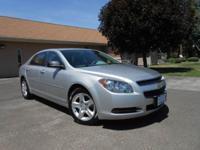 2012 CHEVY MALIBU LS! ONLY 47K MILES! SUPER CLEAN!