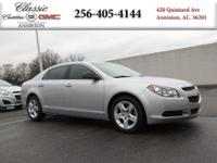 Options:  2012 Chevrolet Malibu Ls W/1Fl|Silver/|V4