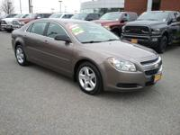 This outstanding example of a 2012 Chevrolet Malibu LS