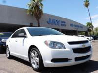Options:  2012 Chevrolet Malibu 4Dr Sdn Ls