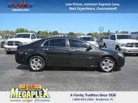 This 2012 Chevrolet Malibu LS in is well equipped with: