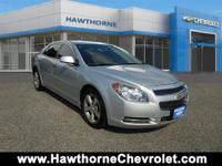 2012 Chevrolet Malibu LT w/1 LT presented in Silver Ice