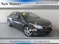 Win a steal on this 2012 Chevrolet Malibu LT w/1LT