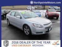 Options:  2012 Chevrolet Malibu Lt Silver We Finance!