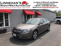 You are looking at a 2012 Chevrolet Malibu LT with only