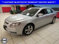 LEATHER, SUNROOF, Malibu LT 2LT, 4D Sedan, ECOTEC 2.4L