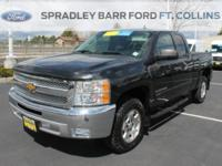 A SPORTY CHEVY PICKUP TRUCK!!! CHECK OUT THIS 2012