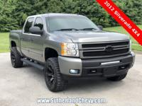 HARD TO FIND CREW CAB WITH 6.2 LITRE V-8! LOADED WITH