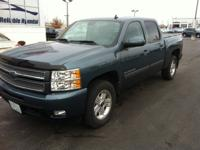 LEATHER INTERIOR and ALLOY WHEELS. Silverado 1500 LTZ,