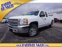 Exterior Color: white, Body: Extended Cab Pickup 4X4,