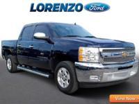 Options:  2012 Chevrolet Silverado 1500 Lt Crew