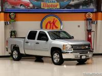 This Carfax 1-Owner 2012 Chevrolet Silverado 1500 LT is