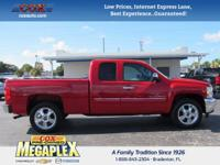 This 2012 Chevrolet Silverado 1500 LT in Red is well
