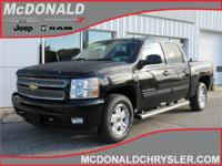 Options:  2012 Chevrolet Silverado 1500 Lt 4X4 Crew Cab